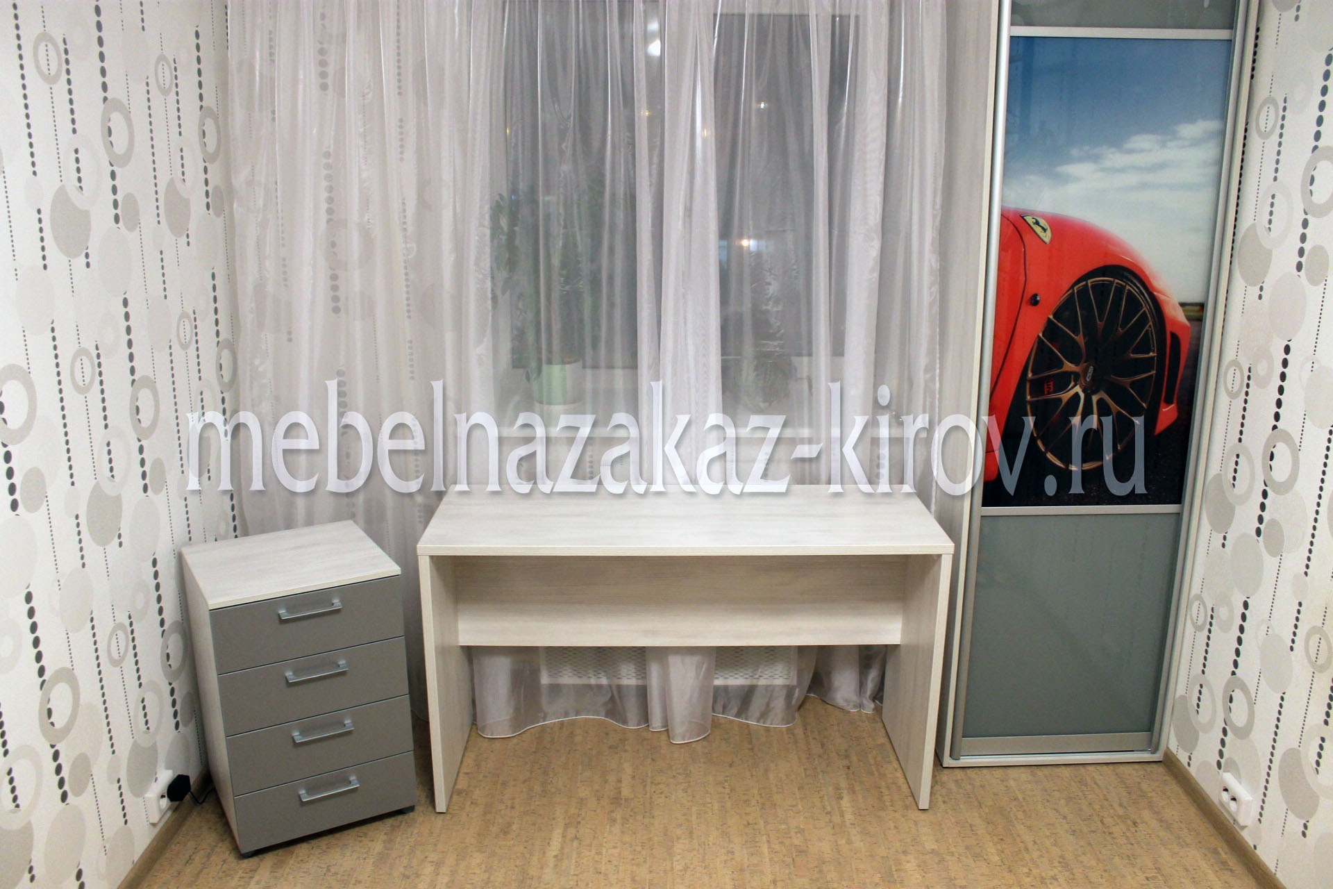Мебель в детскую комнату на заказ г. Киров